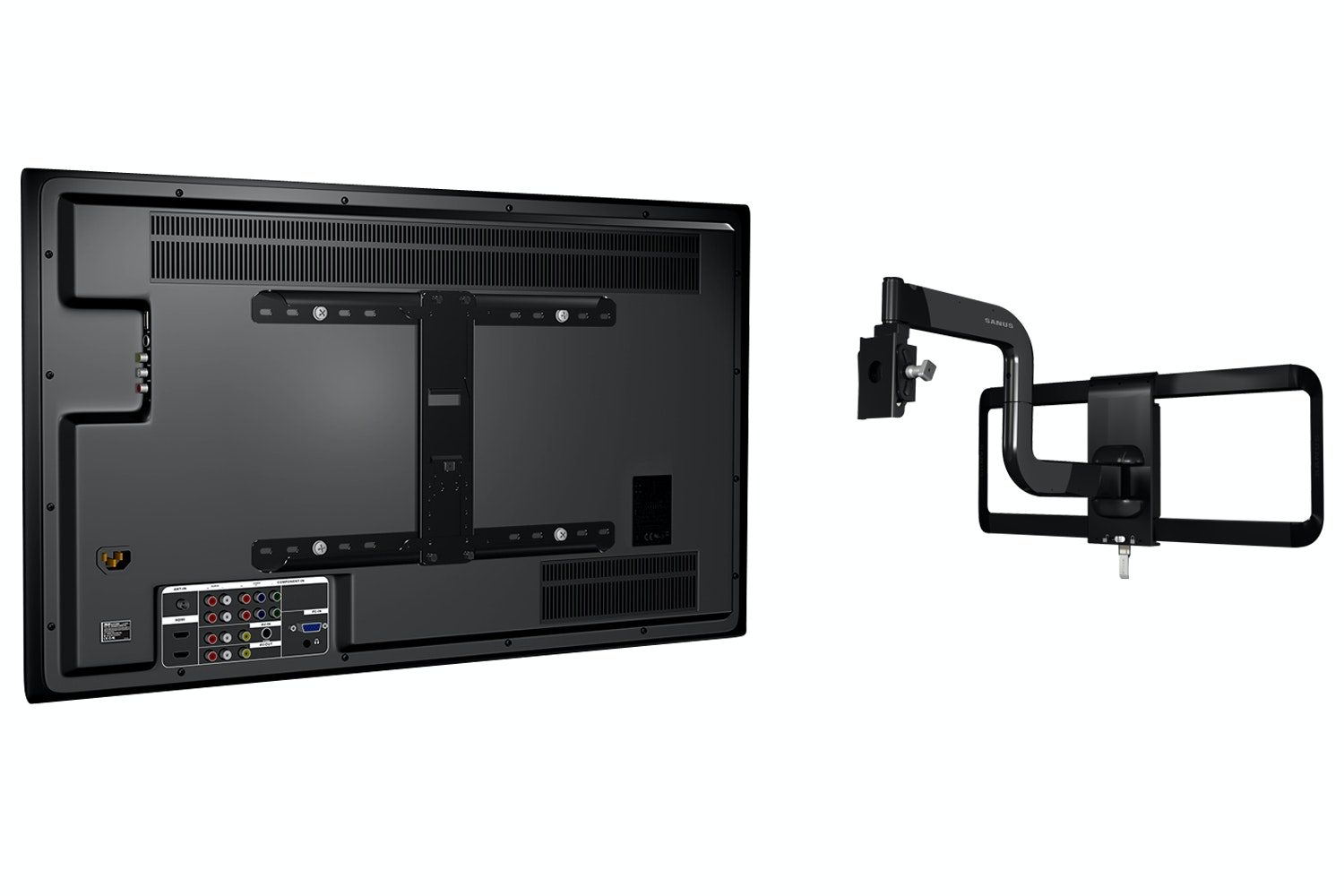 "Sanus Premium Series Full-Motion Mount For 51"" - 70"" Flat Panel TVs 