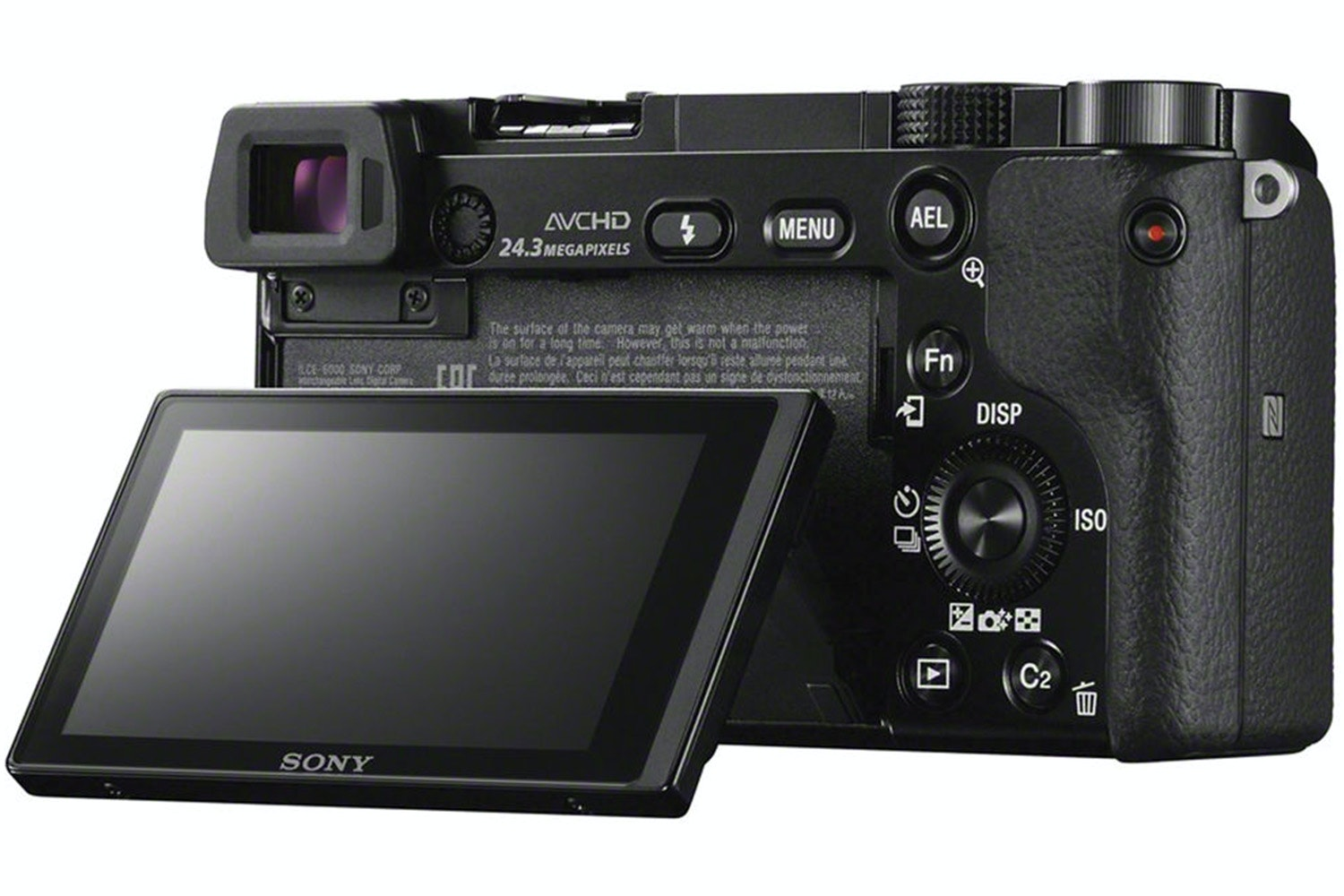 Sony Alpha a6000 Mirrorless Camera | Black