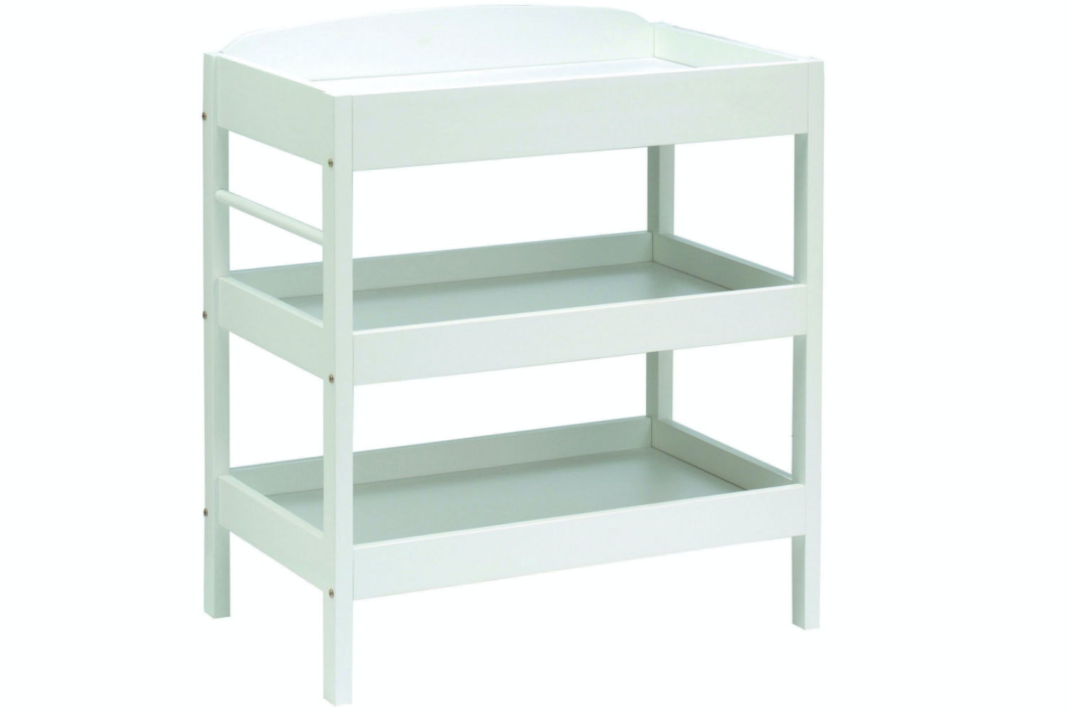 Baby Bumble Open Dresser Changing Table | White