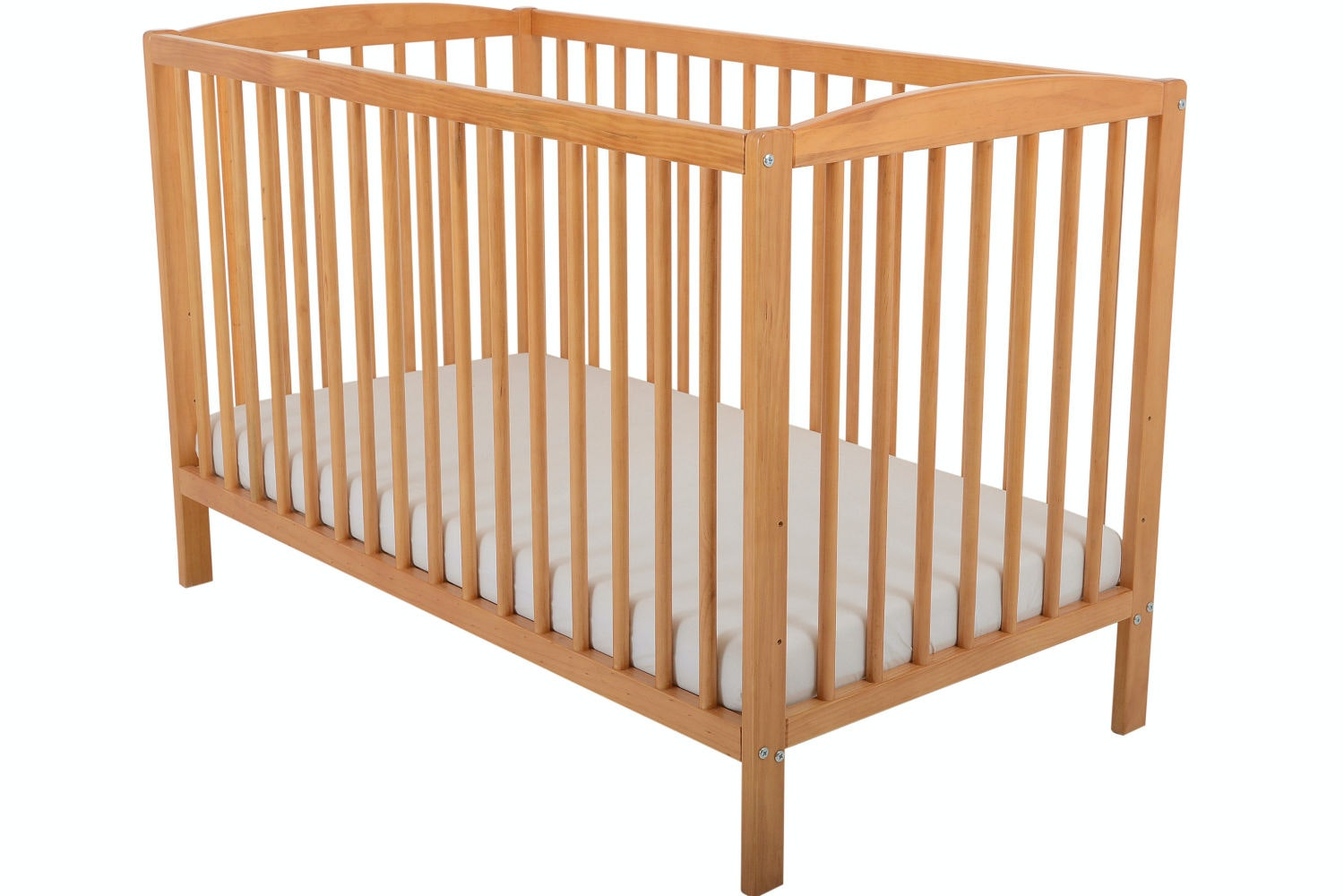 Baby Bumble Cot | Antique Pine