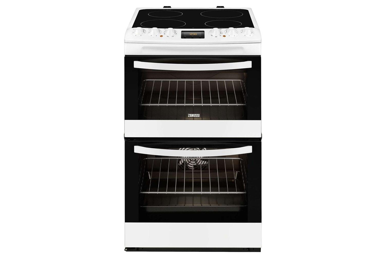 Zanussi 55cm Electric Cooker | ZCV48300WA | Silver