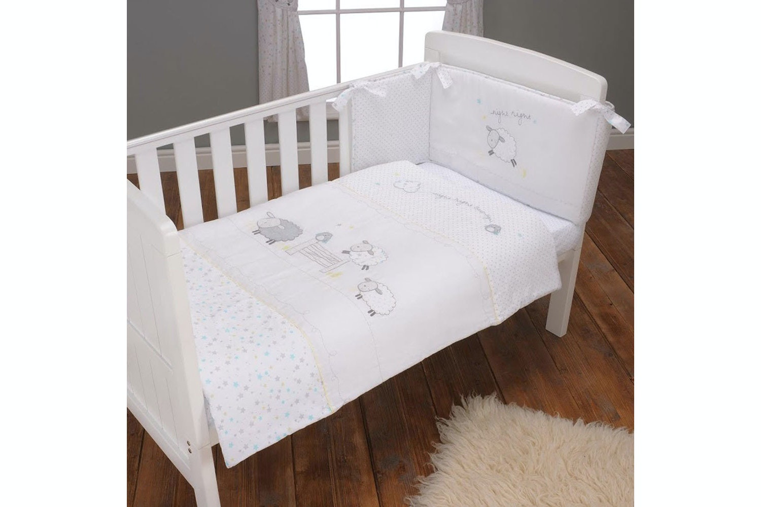 Counting Sheep 3 Piece Bedding Set
