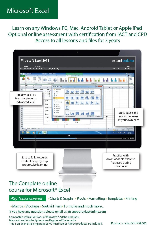 Computer Training - Microsoft Excel