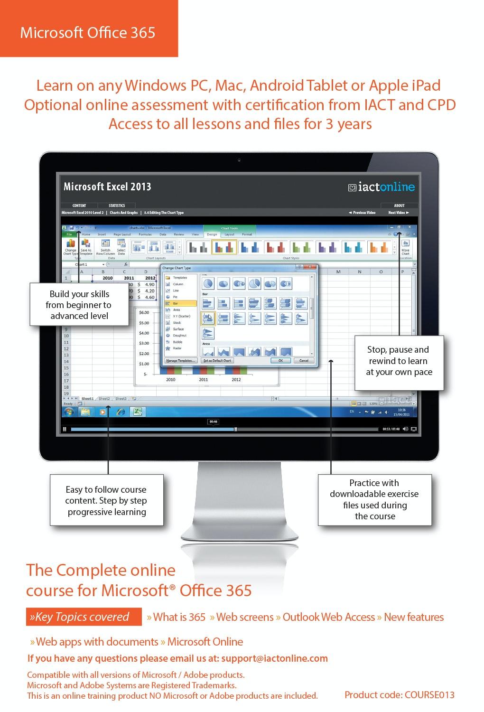 Computer Training - Microsoft Office 365