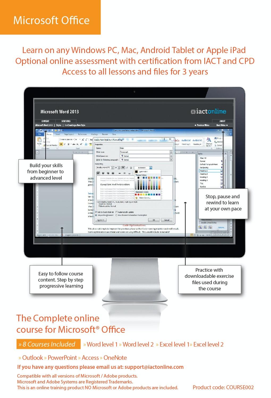 Computer Training - Microsoft Office