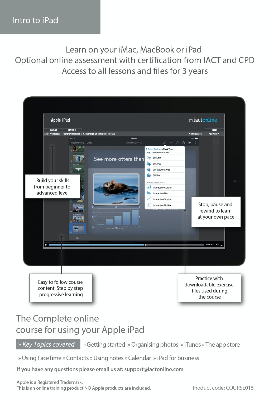 Computer Training - Apple iPad