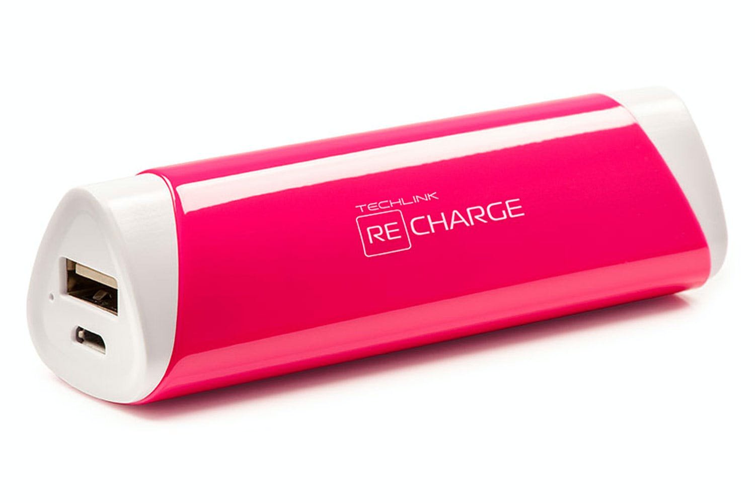 Techlink Recharge 2,600mAh Battery Pack | Pink
