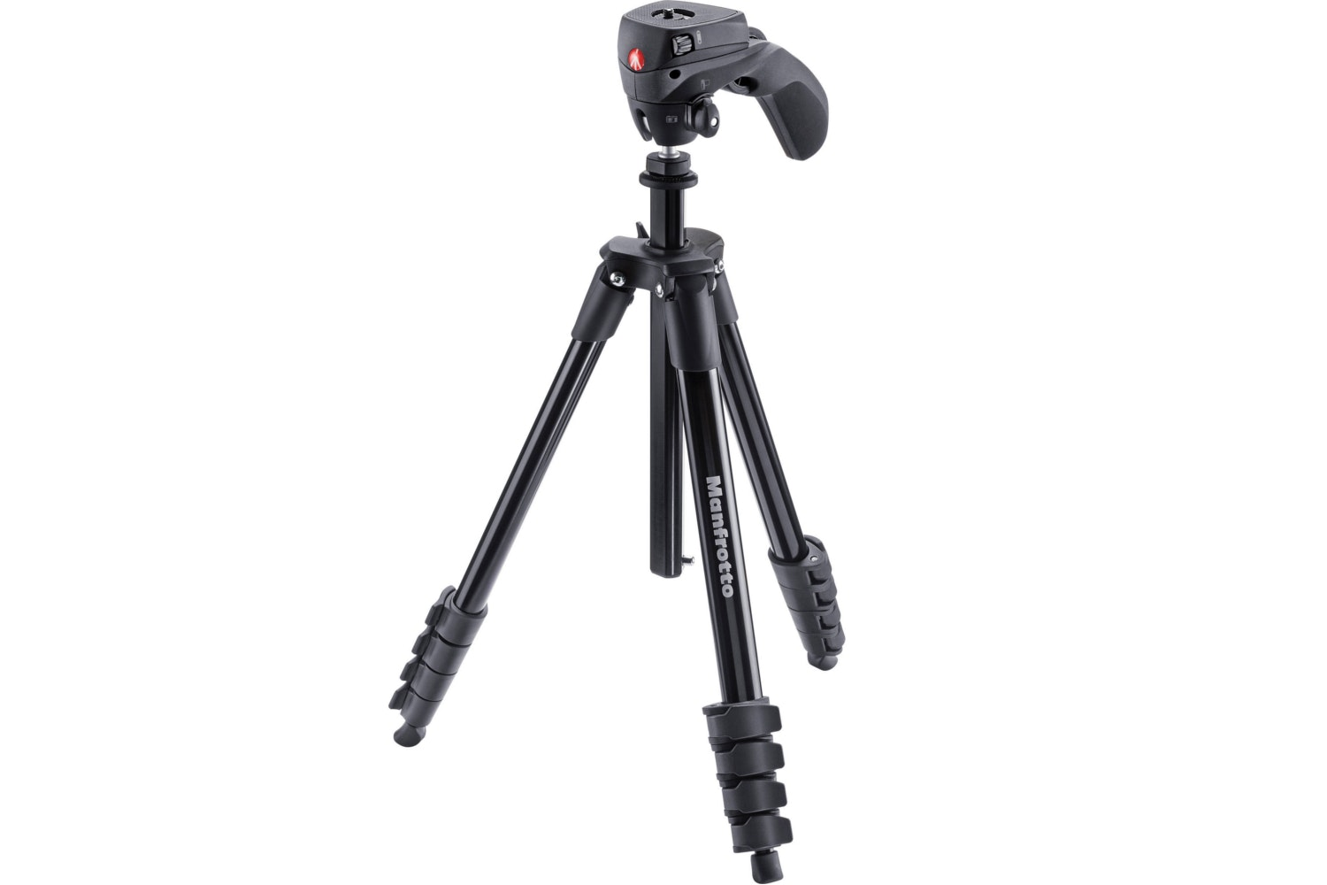 Manfrotto Compact Action Tripod | Black