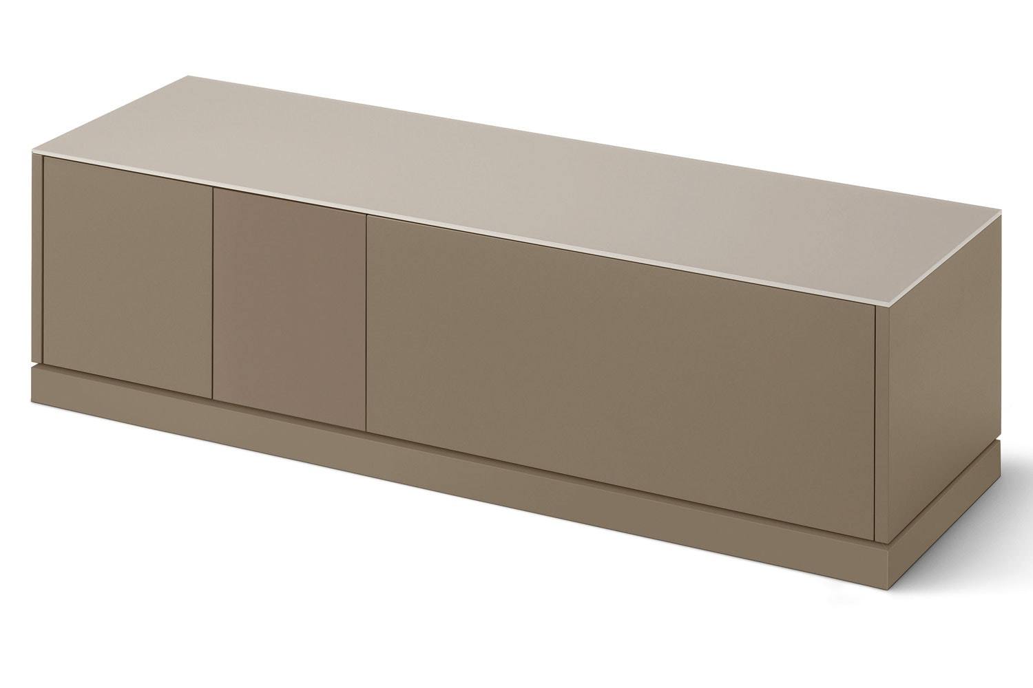 Contour TV Stand | Taupe