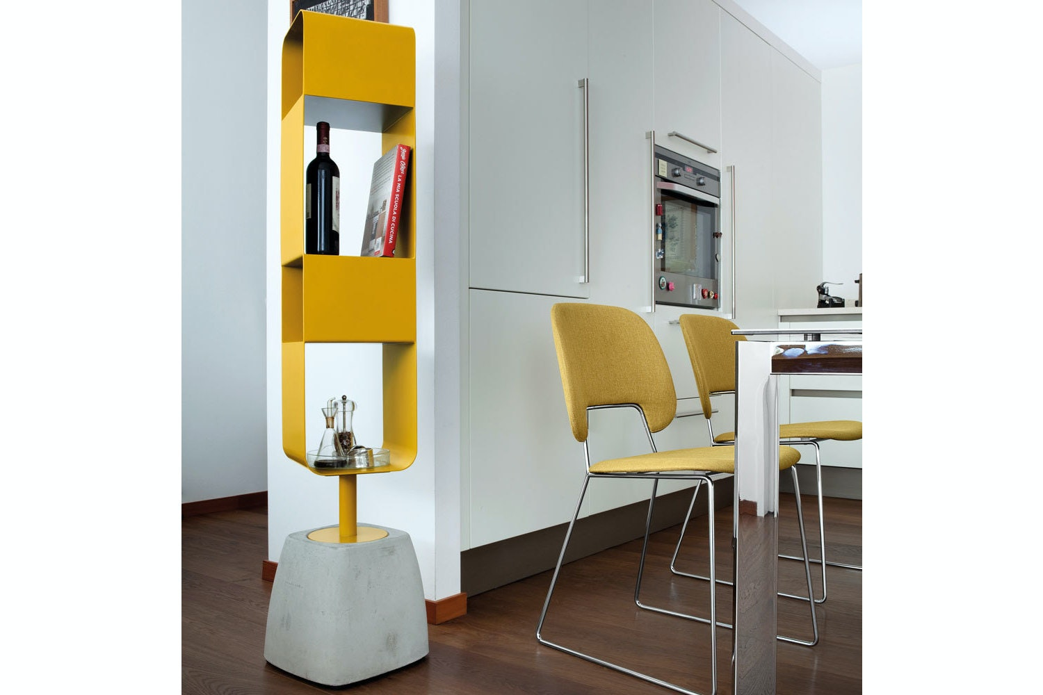 Urban Bookcase | Mustard