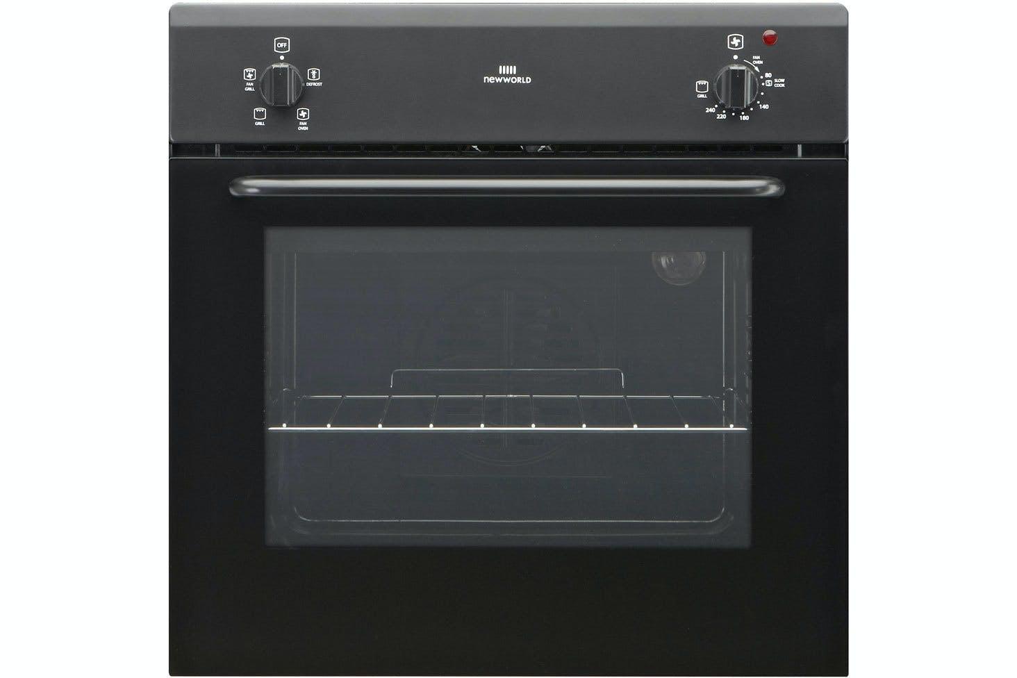 New World Kitchen Appliances New World Single Fan Oven Nw60fvblk Ireland