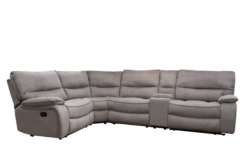 Captivating Lattina Corner Recliner Sofa ...