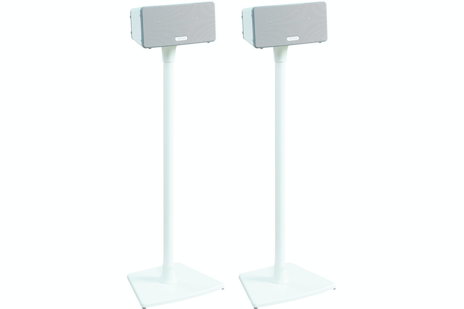 Sanus Wireless Series Speaker Stands for Sonos PLAY 1 & PLAY 3 White | WSS2-W1
