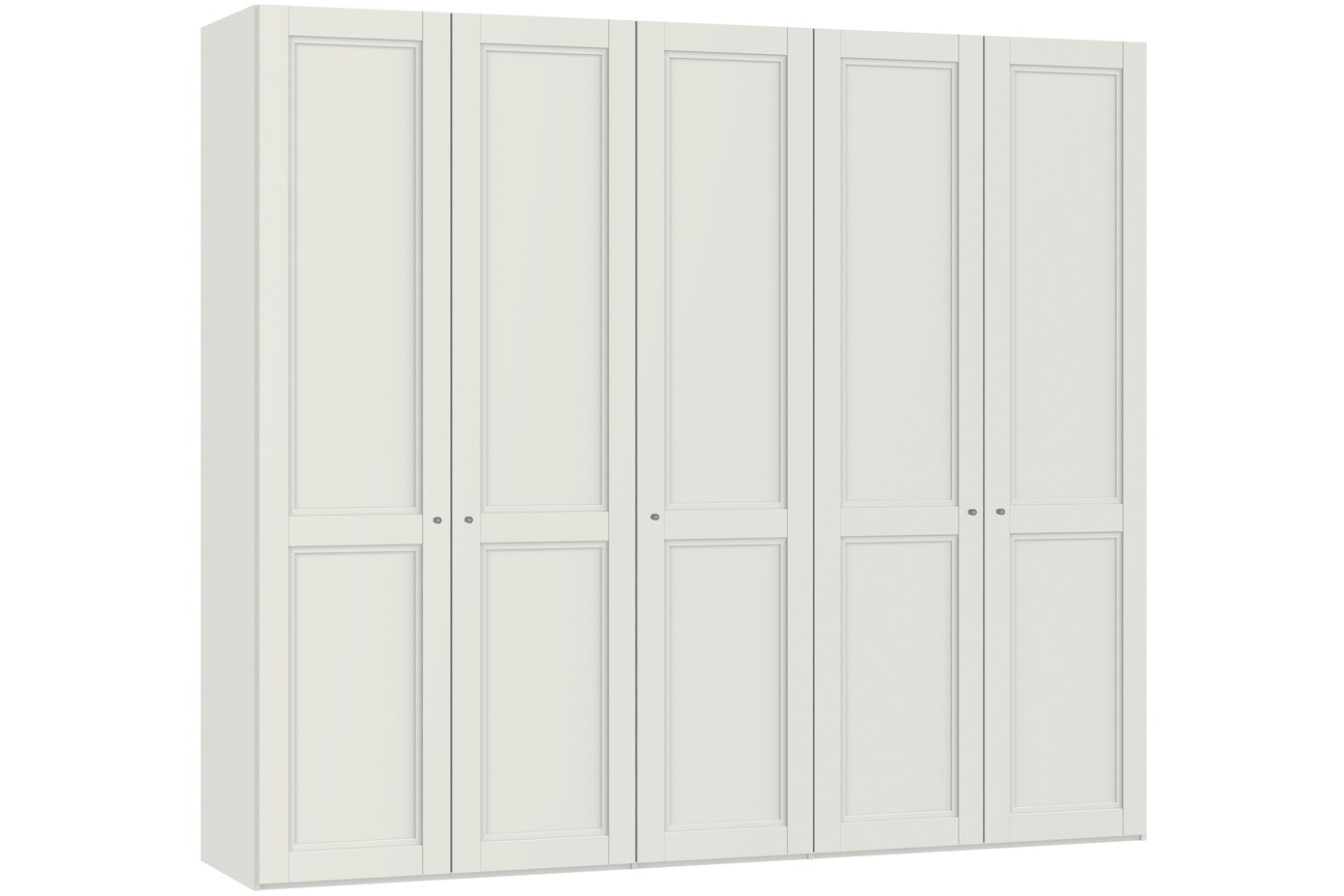 Emily Hinged 5 Door Wardrobe 253Cm | Country