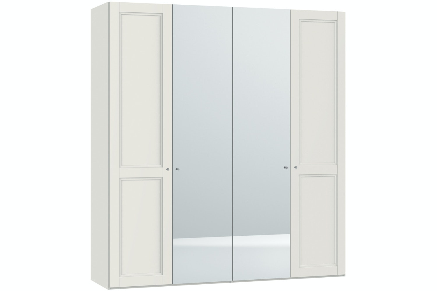 Emily Hinged 4 Door Wardrobe 203Cm | Country + Mirror