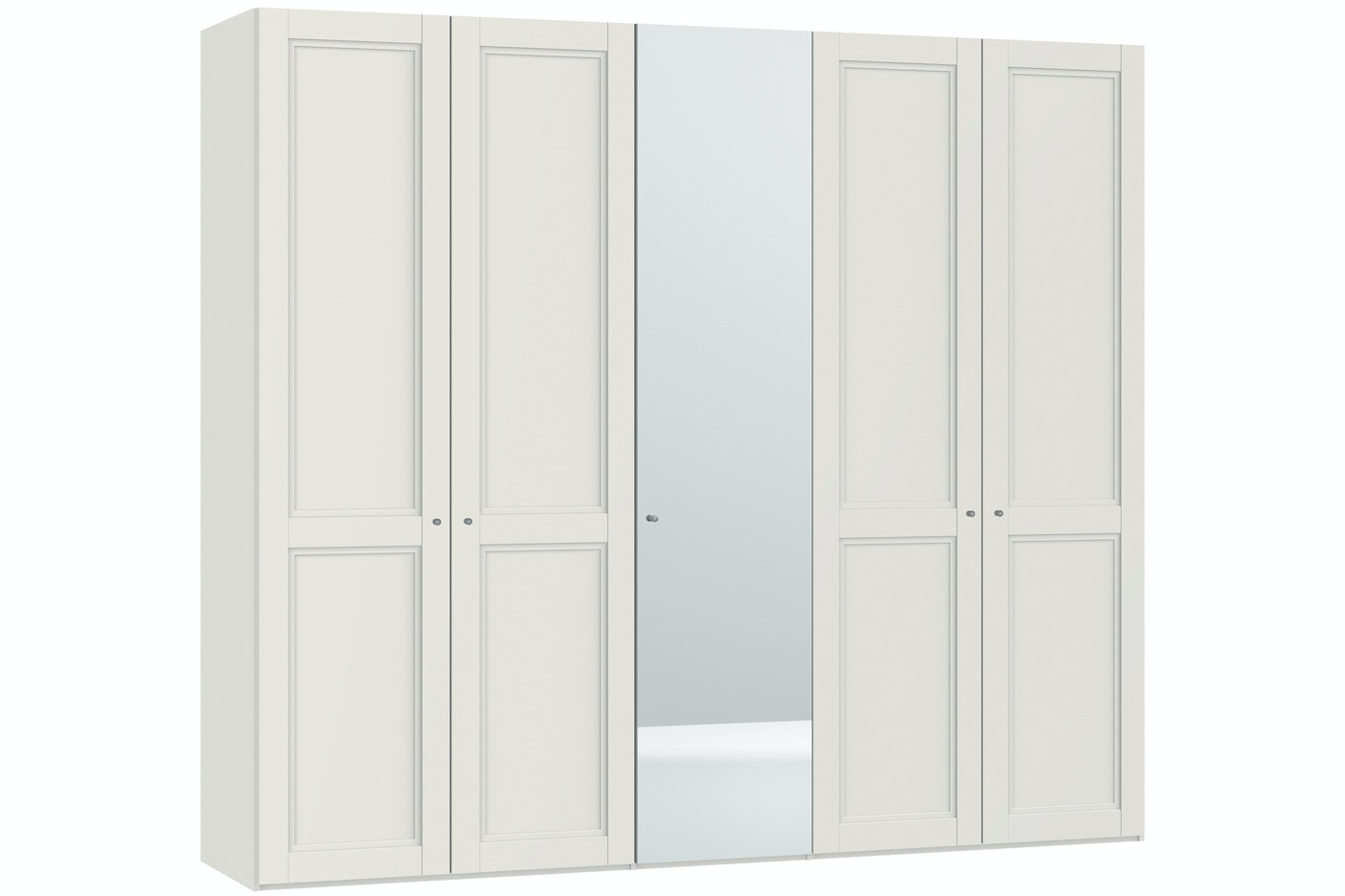 Emily Hinged 5 Door Wardrobe 253Cm | Country + Mirror