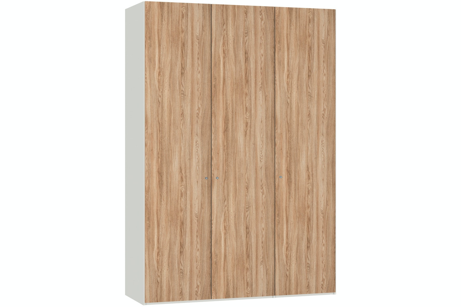 Christine Hinged 3 Door Wardrobe 152Cm | Oak