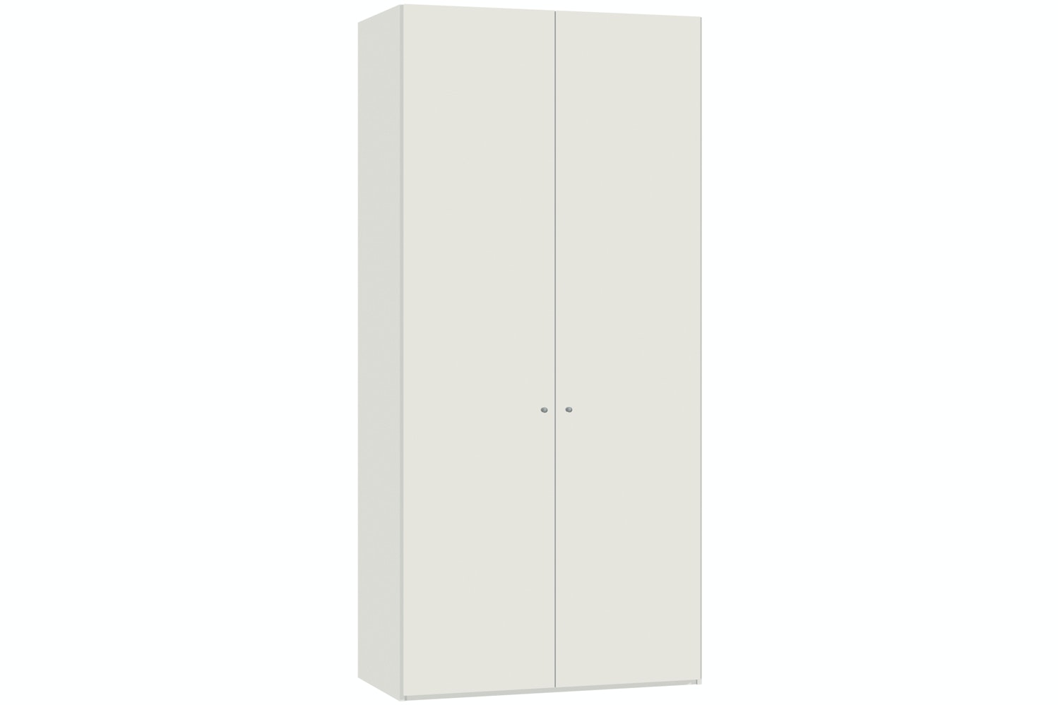 Emer Hinged 2 Door Wardrobe 102Cm | White
