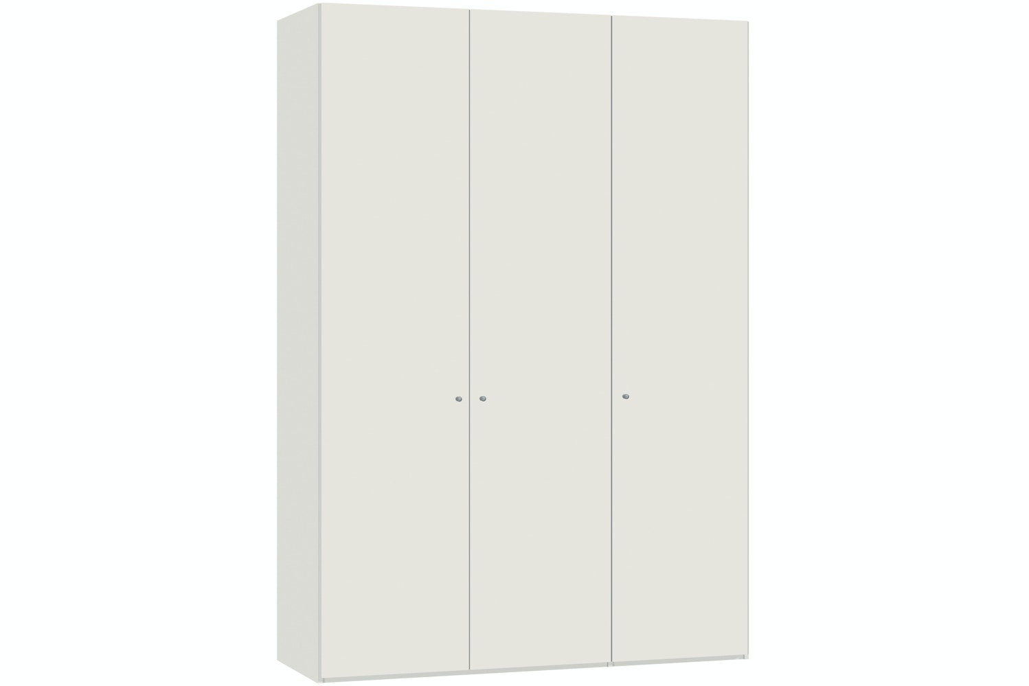 Emer Hinged 3 Door Wardrobe 152Cm | White