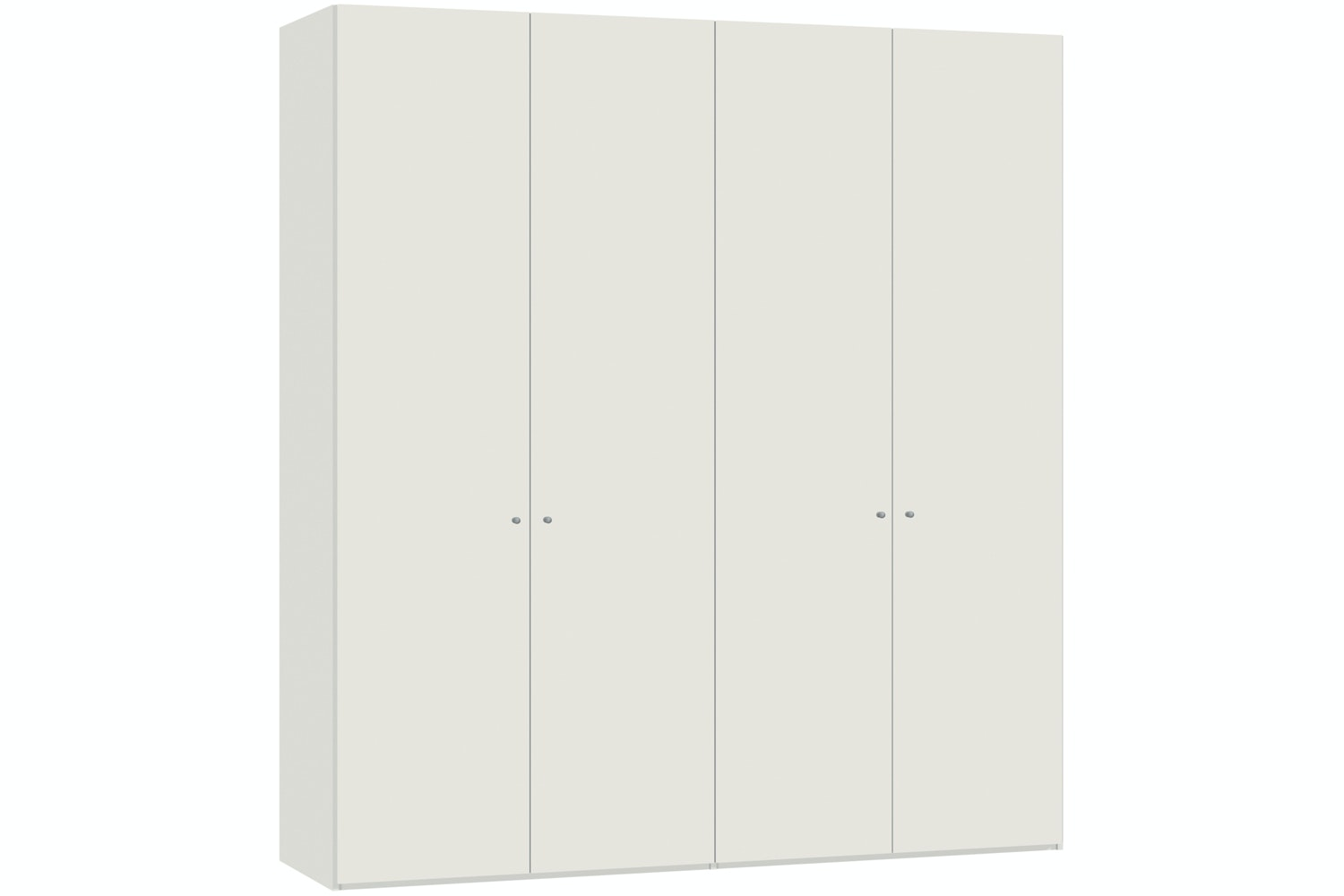 Emer Hinged 4 Door Wardrobe 203Cm | White
