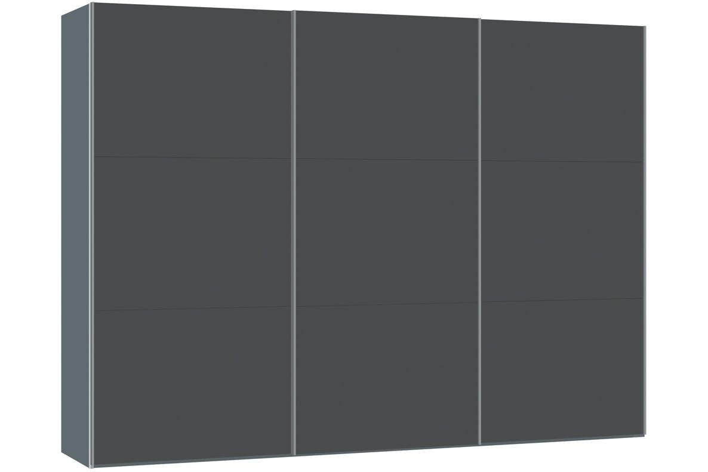 Jutzler Slideline 3m Wardrobe   Anthracite Glass
