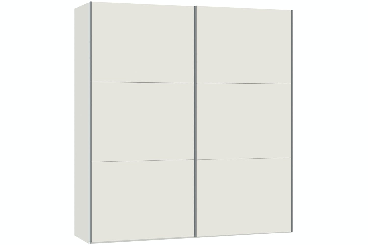 Emer Sliding Wardrobe 203cm | White