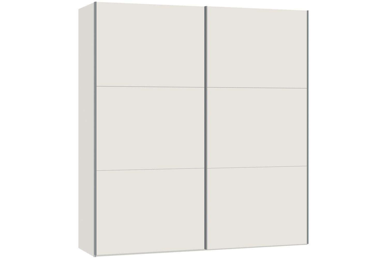 Emer Sliding Wardrobe 203cm | White