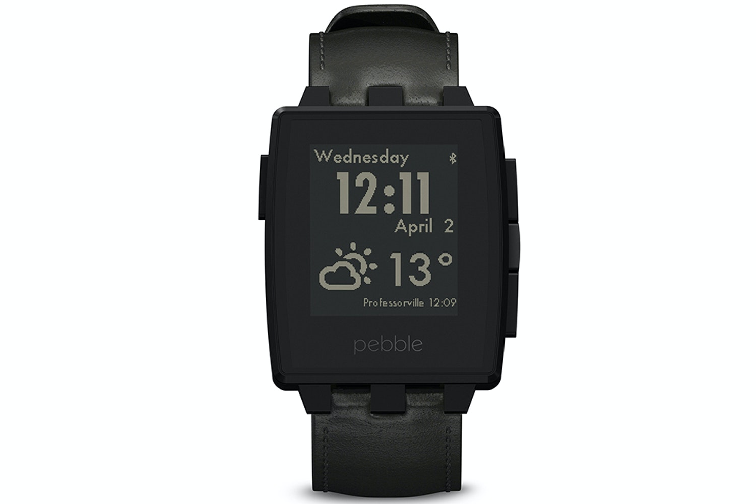 Pebble Steel Black