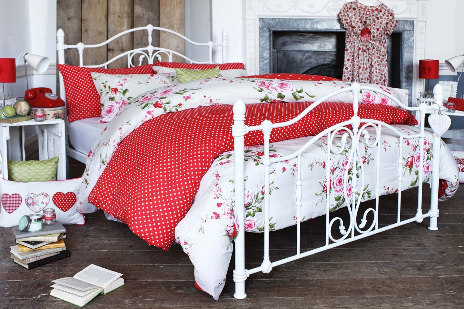 Canterbury Double Duvet Cover | Red