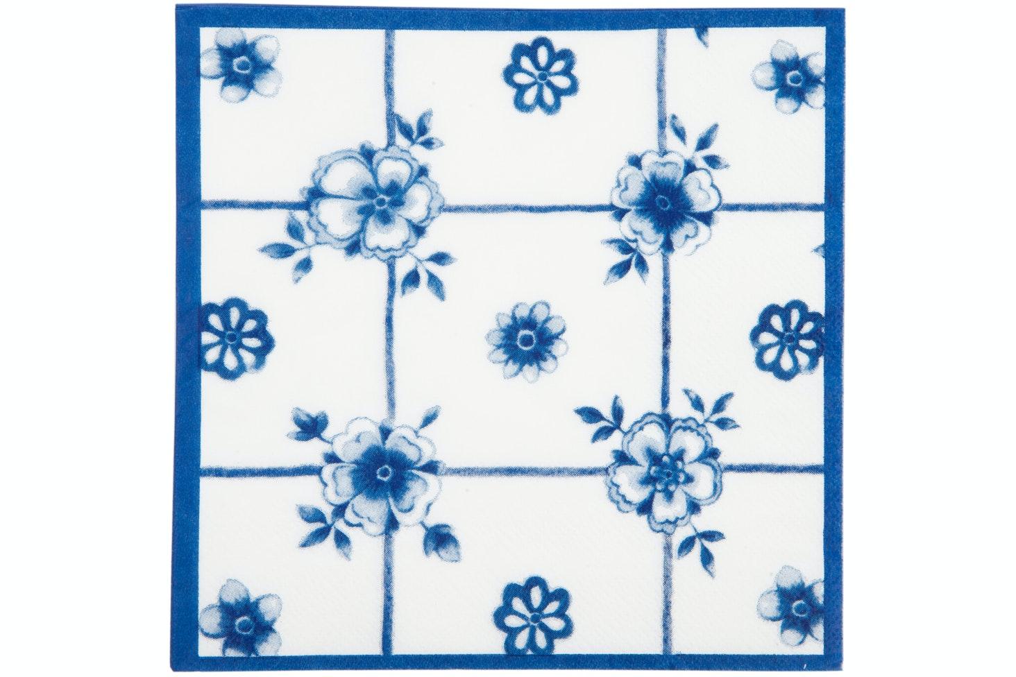 Napkins | Blue Floral