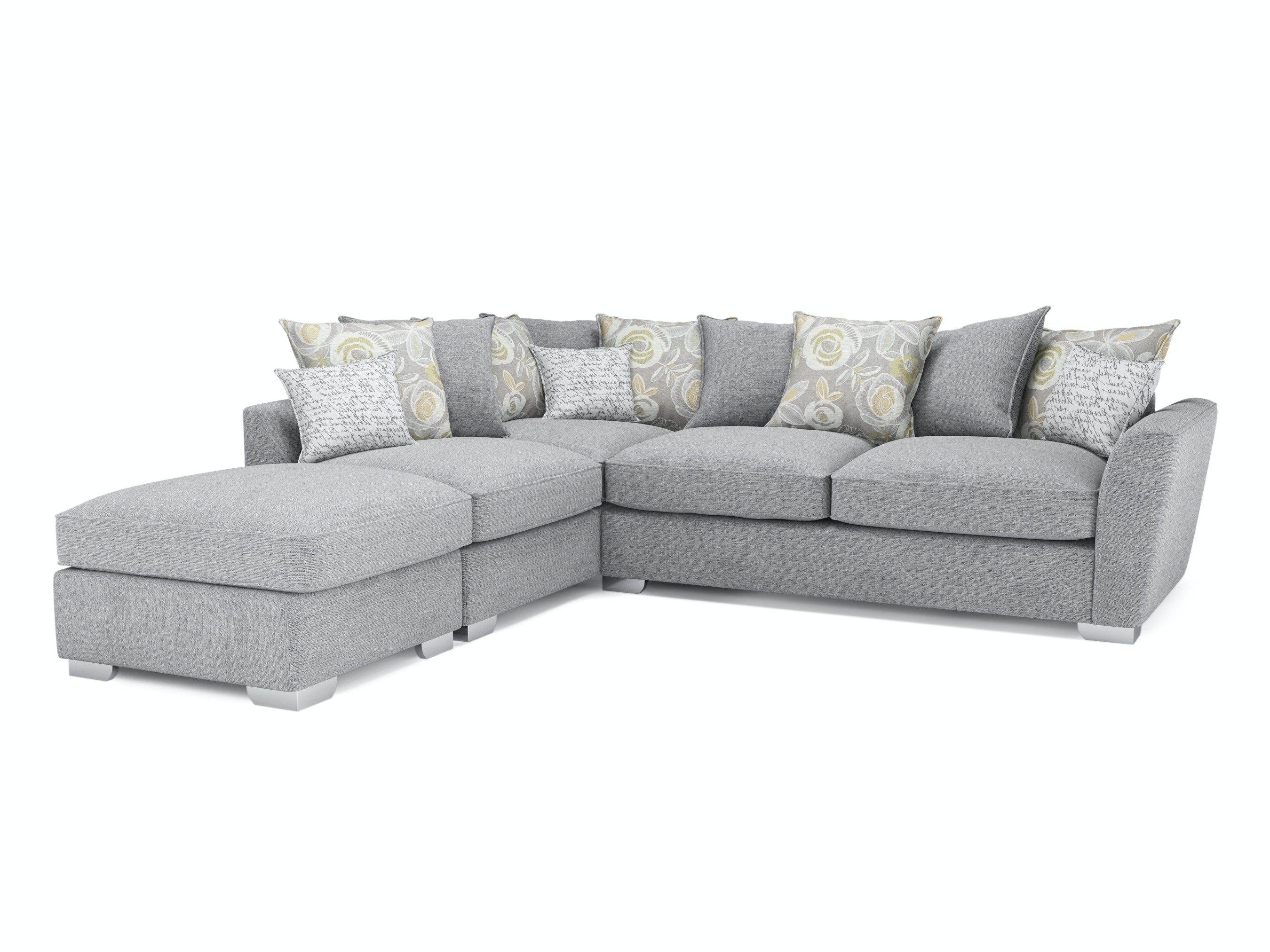 Fantasia Corner Sofa with Footstool