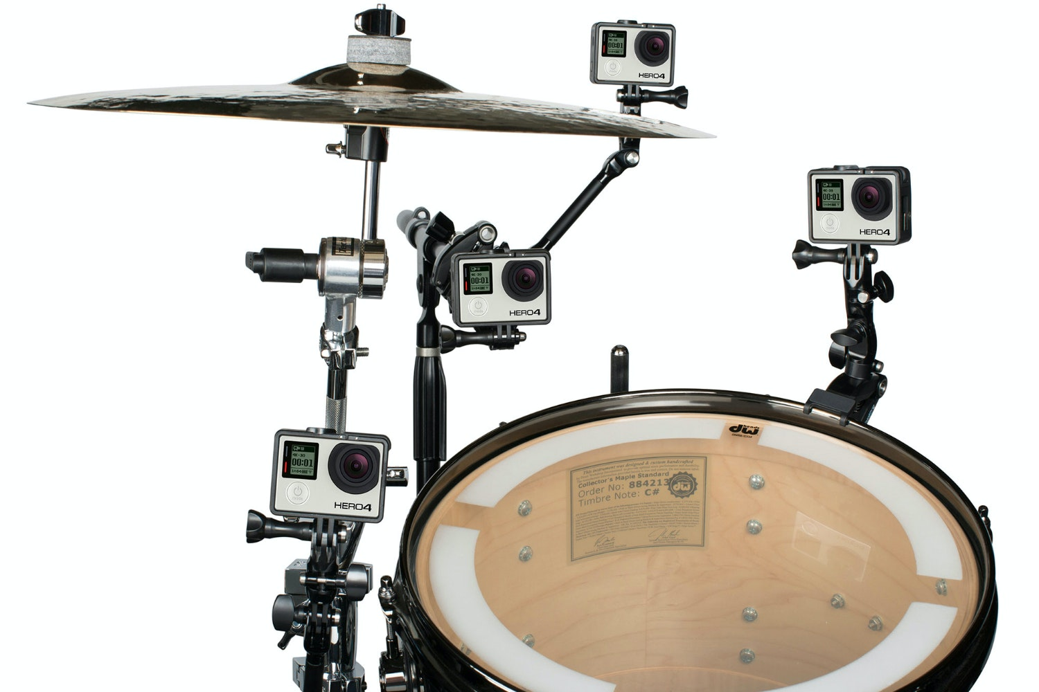 The Jam Drum mount