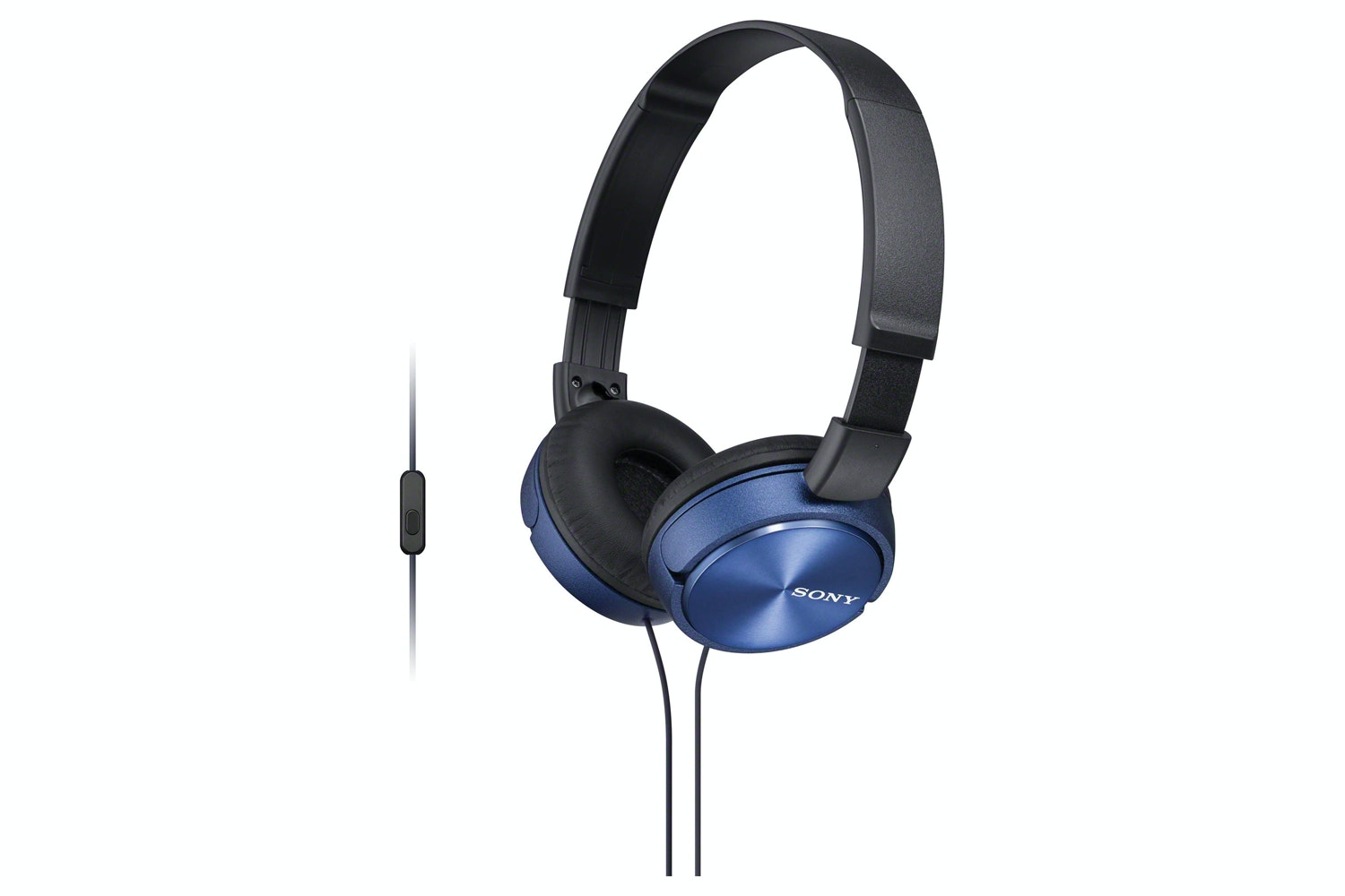 Sony MDR-ZX310AP On Ear Headphones | Blue