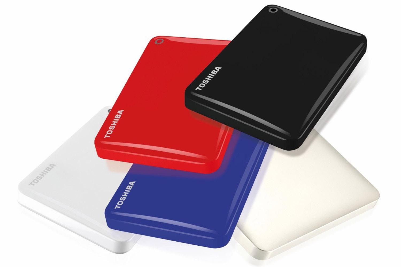 Toshiba Canvio Connect II Portable Hard Drive   1TB