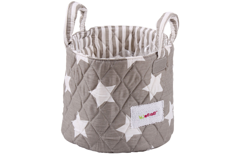 Minene Small Storage Basket | Taupe