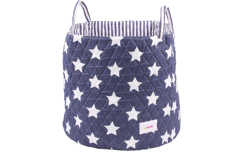 Minene Large Storage Basket | Navy Star