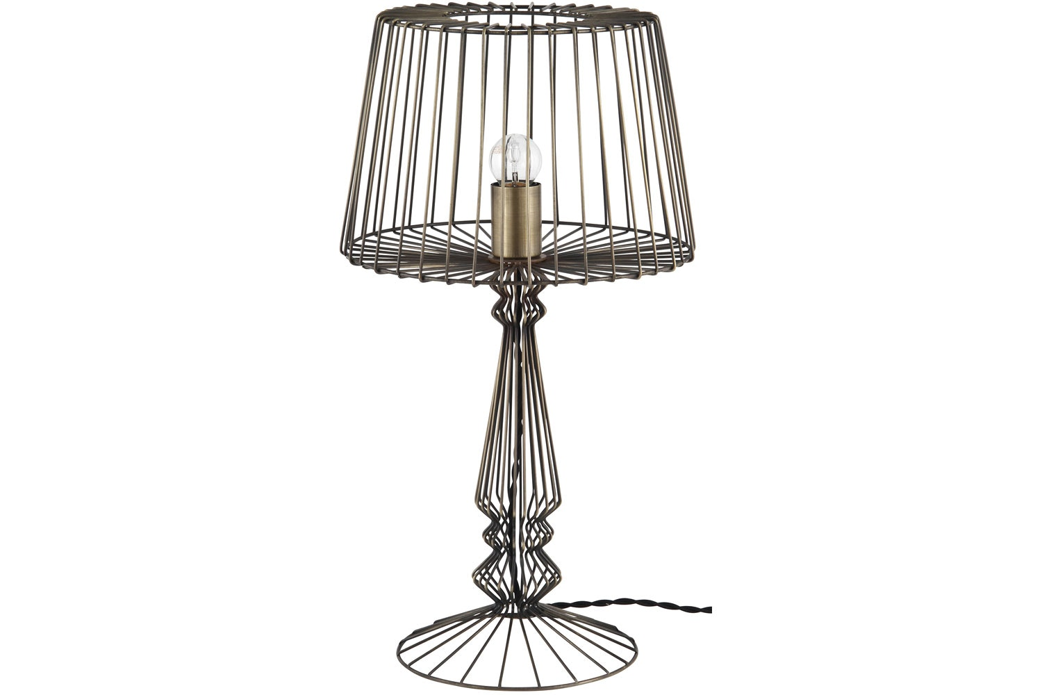 Open Wire Table Lamp