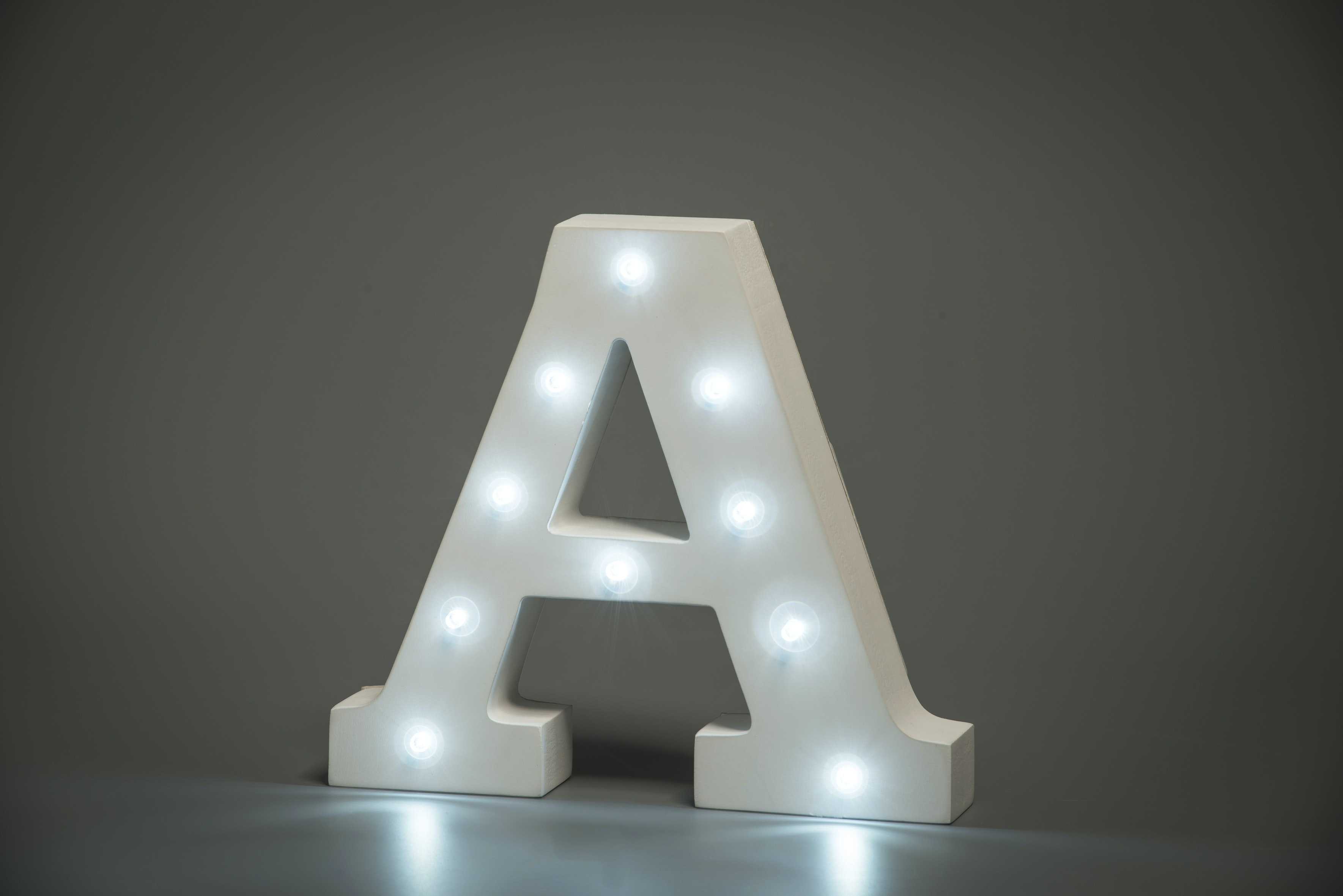 Up In Lights Illuminated Letter | A