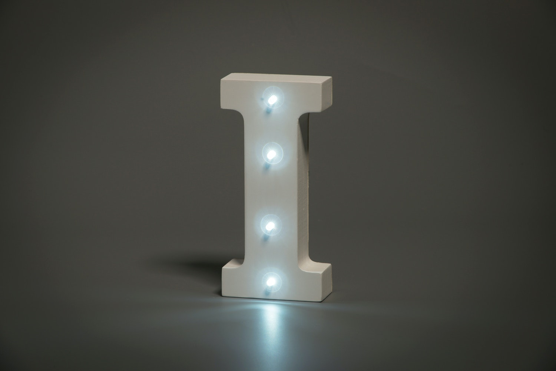 Illuminated Letter I