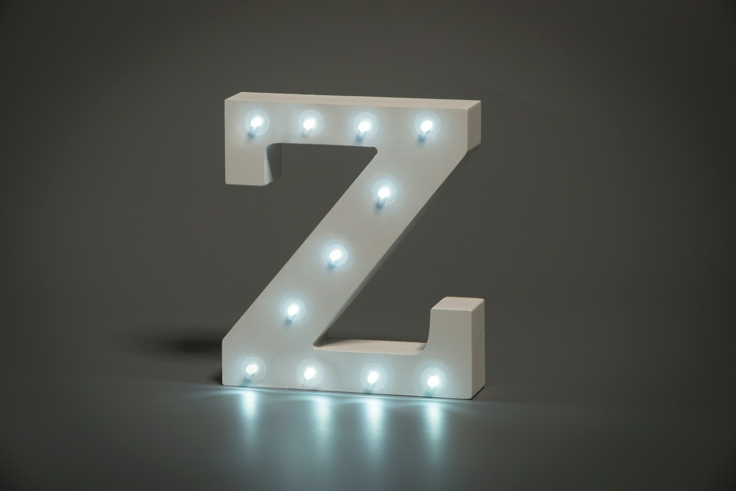 Up In Lights Illuminated Letter | Z