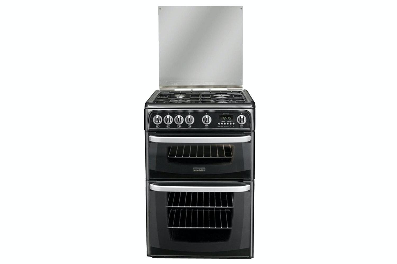 Hotpoint Black 60cm Gas Cooker | CH60GCIK