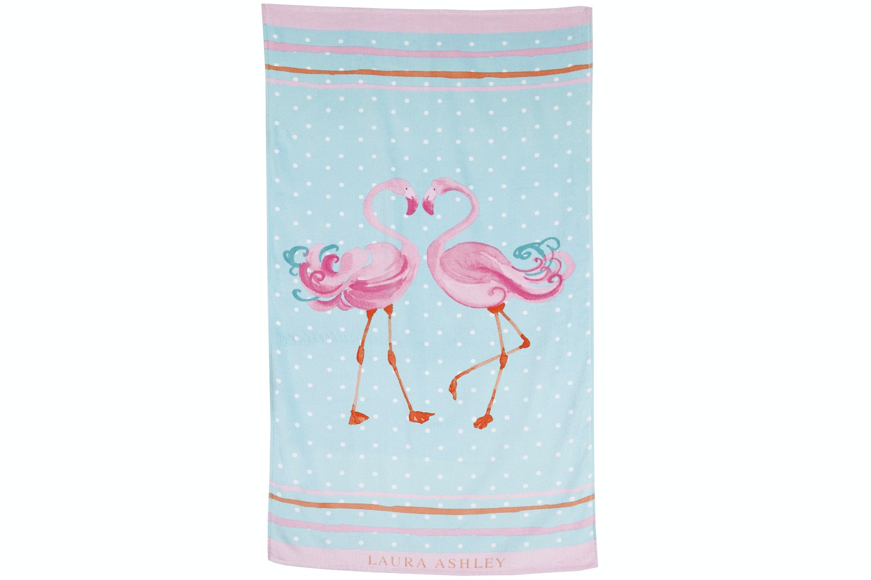 Laura Ashley Flamingo Beach Towel