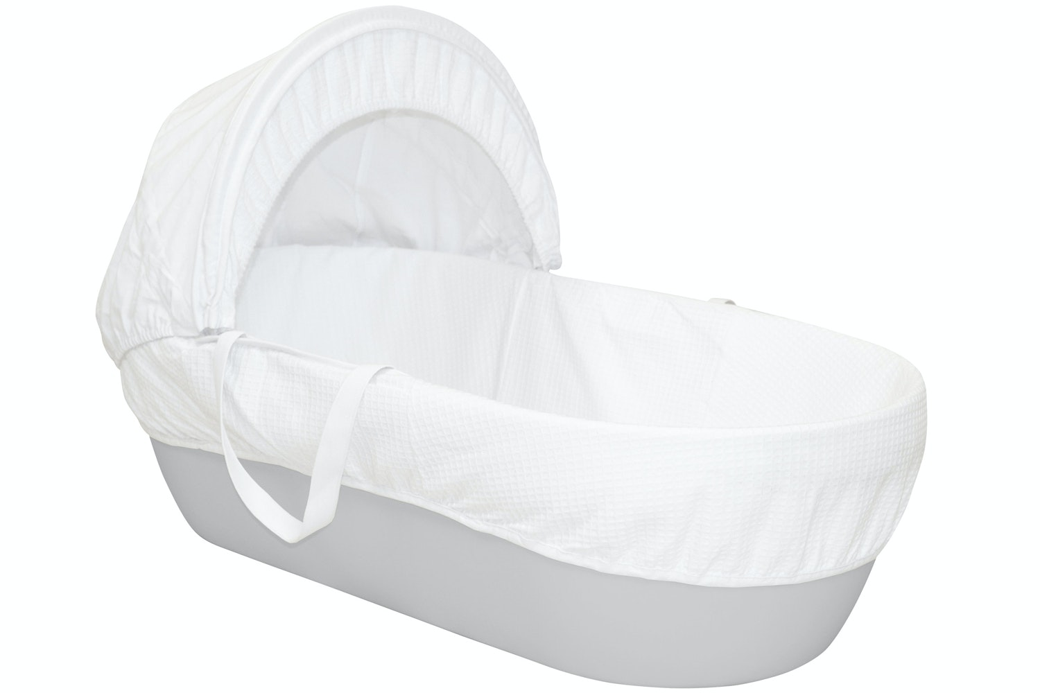 Shnuggle Classic Moses Basket | Pebble Grey