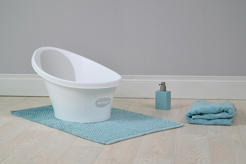 Shnuggle Bath | White & Pink