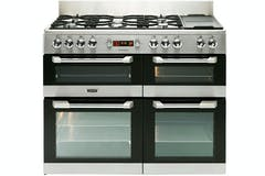 Leisure CuisineMaster 110cm Dual Fuel Range Cooker | CS110F722X | Stainless Steel