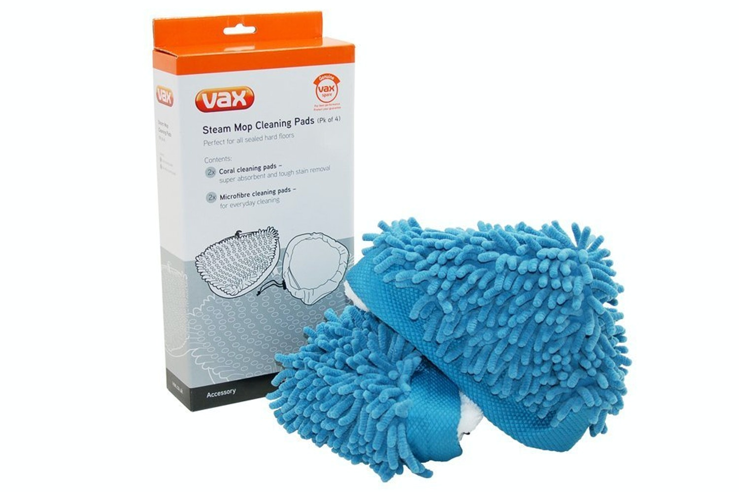 Vax S2 Series Triangular Steam Cleaning Pads