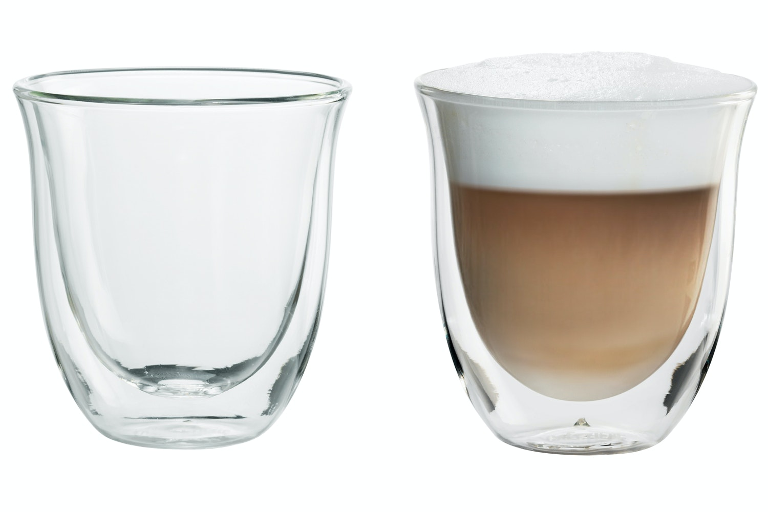 Delonghi Cappuccino Glasses
