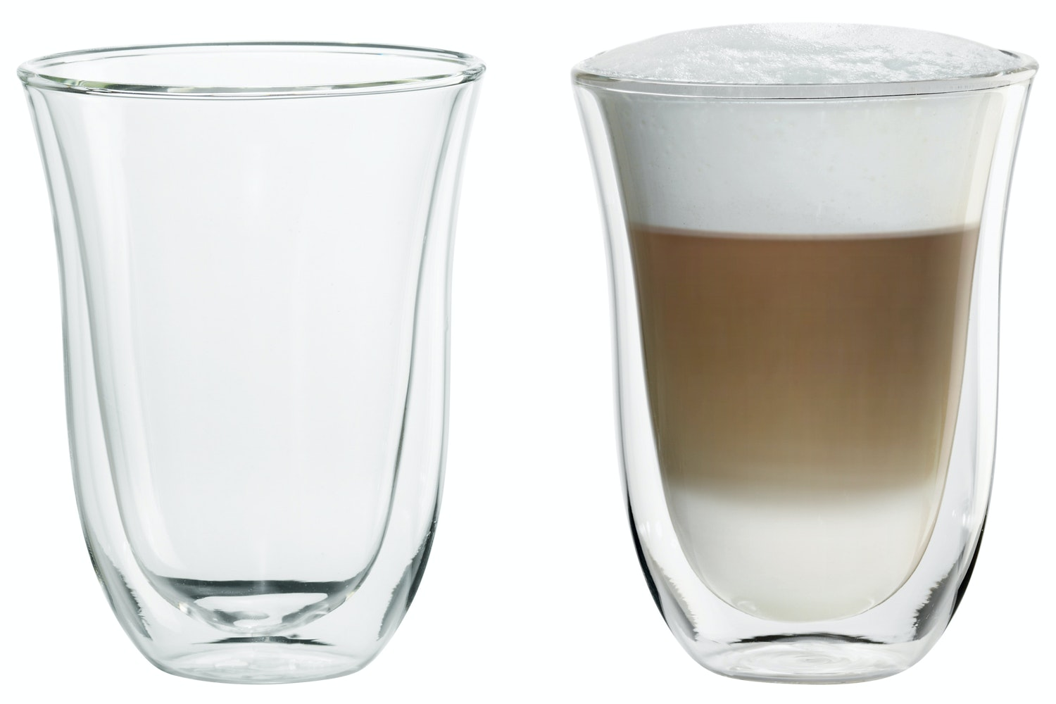 Delonghi Latte Macchiato Thermo Glasses