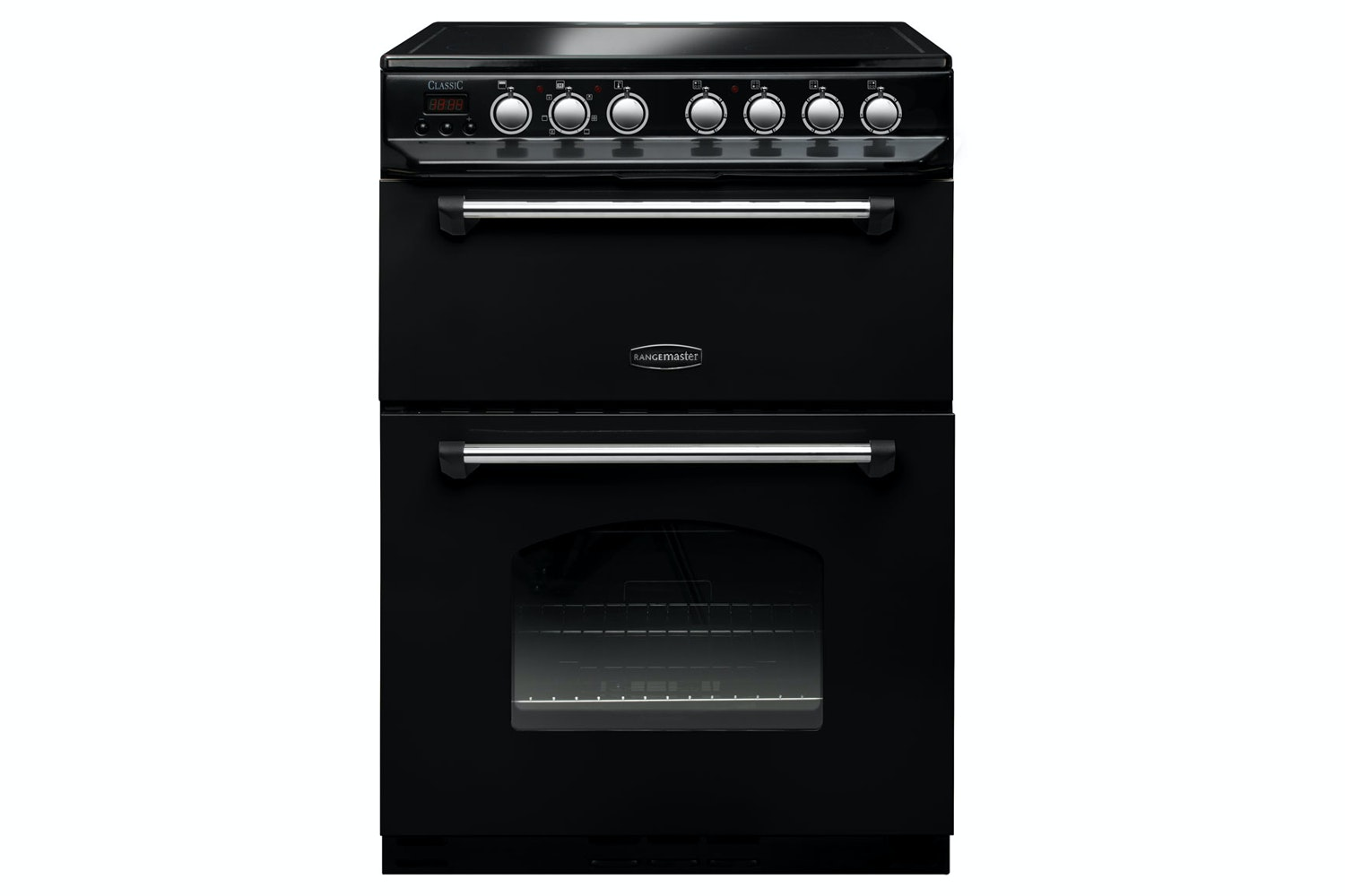 Rangemaster 60cm Electric Cooker | CLAS60ECBL/C | Black
