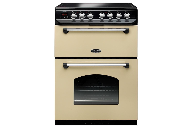Rangemaster Classic Ceramic Cooker   CLAS60ECCR/C
